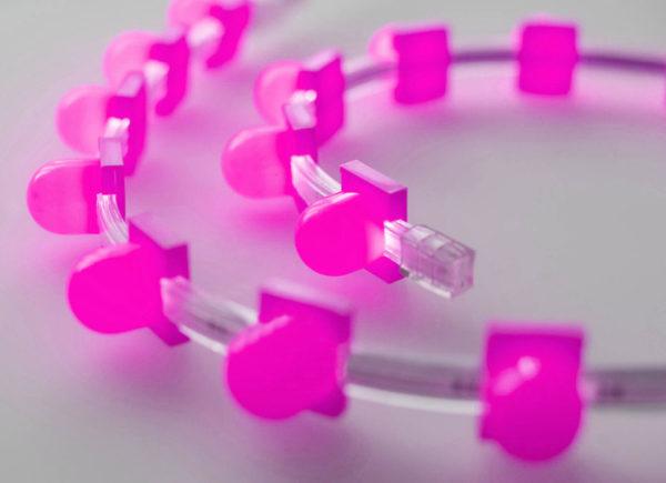Съемный колпачок для клипсолайта Rich LED, розовый 1