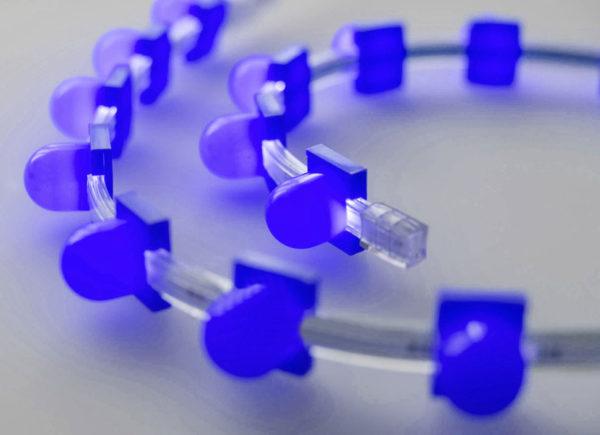 Съемный колпачок для клипсолайта Rich LED, синий 1