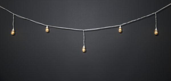 Ламполайт Rich LED 10*0.28 м, линейно-свесовый 1-1, 220 В, постоянное свечение, белый провод 1