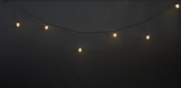 Ламполайт Rich LED 10*0.28 м, линейно-свесовый 1-1, 220 В, постоянное свечение, черный провод 1