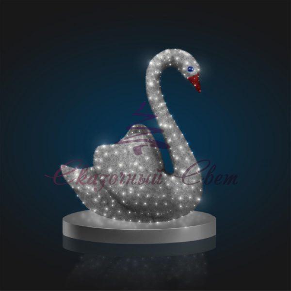Фигура Лебедь В 1,8 м х Ш 1,5 м х Г 0,8 м - OL 302 1