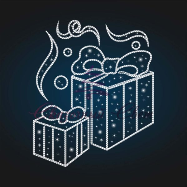 Панно уличное Новогодние подарки В 4,5 м х Ш 3,7 м - PA 01 1