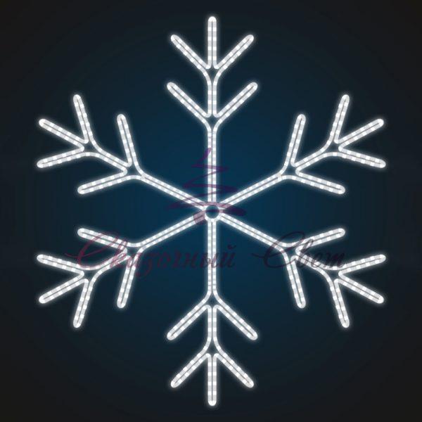 Световое панно Снежинка В 1,5 м х Ш 1,4 м - PA 13 1