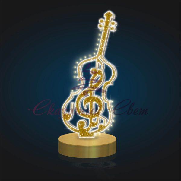 Фигура Музыкальная из композита В 3,0 м х Ш 1,35 м х Г 1,35 м - PL 29 1