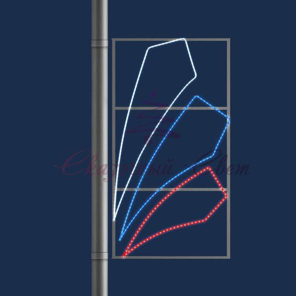Светодиодная консоль RU 02 - В 1,8 м х Ш 0,8 м 1