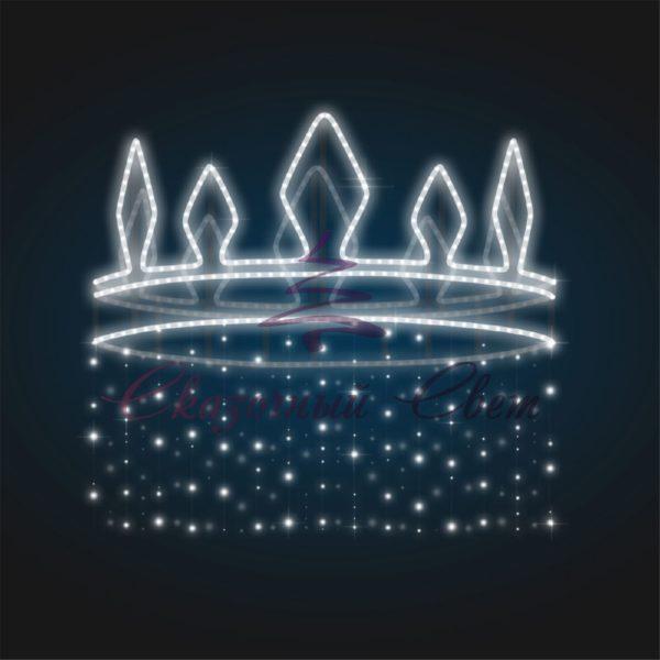 Консоль новогодняя Корона В 1,4 м х Ш 1,4 м х Г 1,4 м - SE 39 1