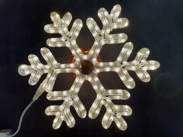 Снежинка Rich LED ПРЕМИУМ, 40 см, тепло-белая 1