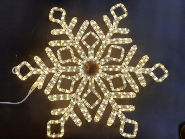 Снежинка Rich LED ПРЕМИУМ, 70 см, тепло-белая 1